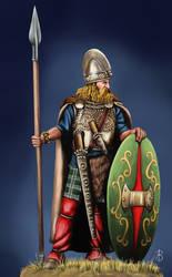 Celt Warrior by sandu61