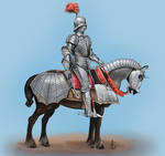 Medieval Armored Knight