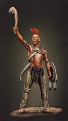 Pawnee Warrior by sandu61