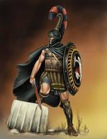 Greek Mercenary by sandu61