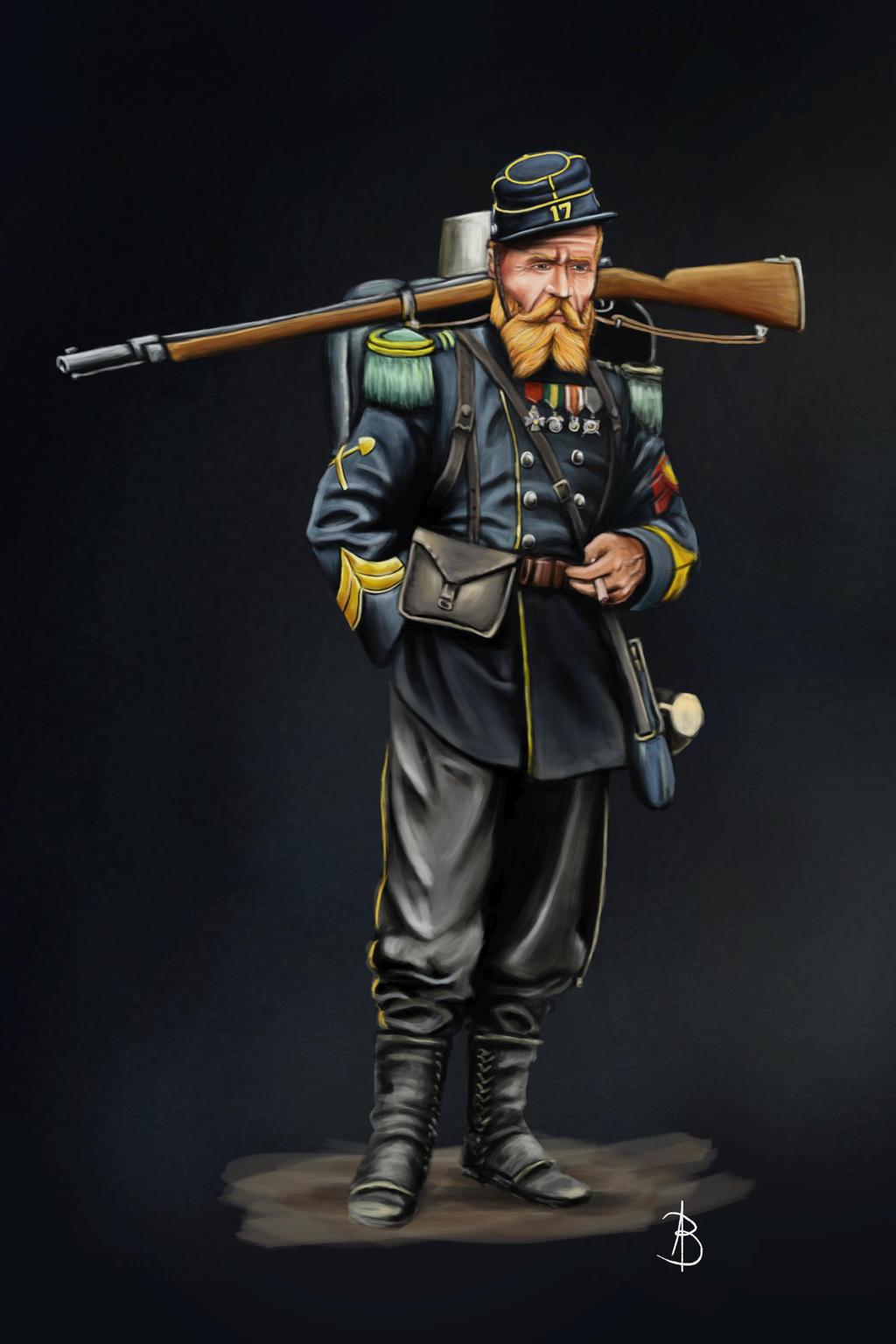 Corporal Sapper 17th Battalion