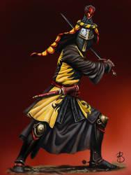 Medieval Knight sec.XIV by sandu61