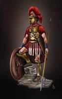 Greek Hoplite by sandu61