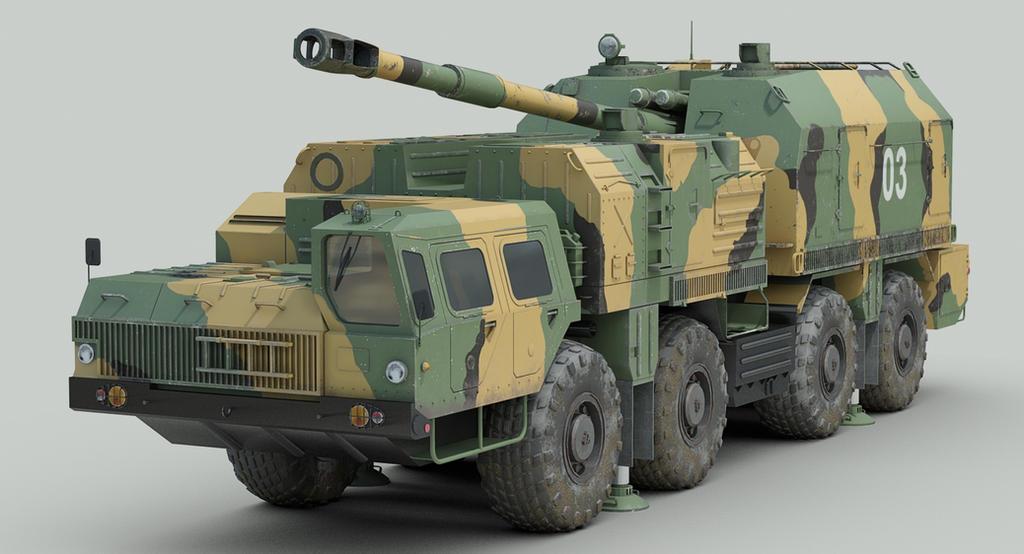 A222 Bereg coastal artillery by sandu61