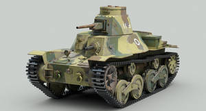 IJA, Type 95 Ha-Go light tank