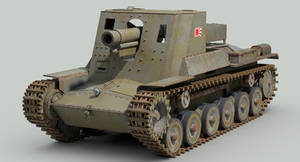 WW2 IJA Type 4 Ho-Ro self propelled gun