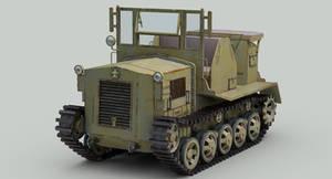 WW2 IJA Type 98 Shi-Ke tractor