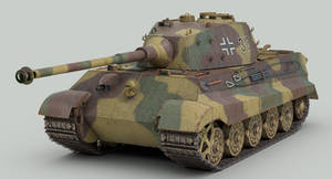 Tiger 2 tank