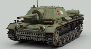 SU 76i Soviet SPG
