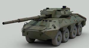 2S14 Zhalo tank destroyer