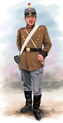 Romanian Artillerist (1877)