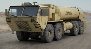 Oshkosh HEMTT M978 fuel tanker