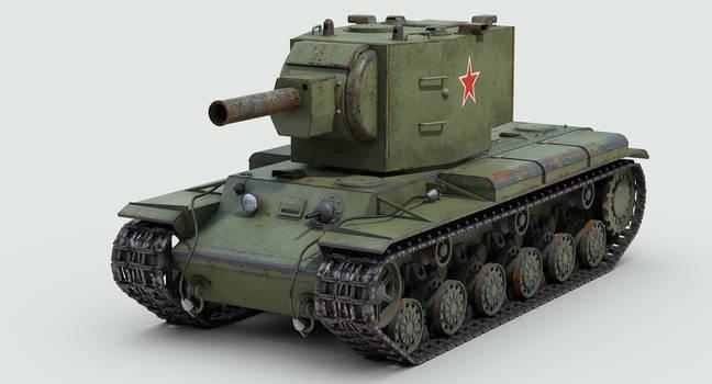 KV2 Russian tank