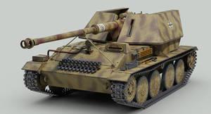 Krupp/Adler Waffentrager 88mm