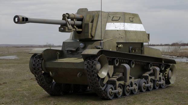 TACAM R2 Romanian self propelled antitank gun