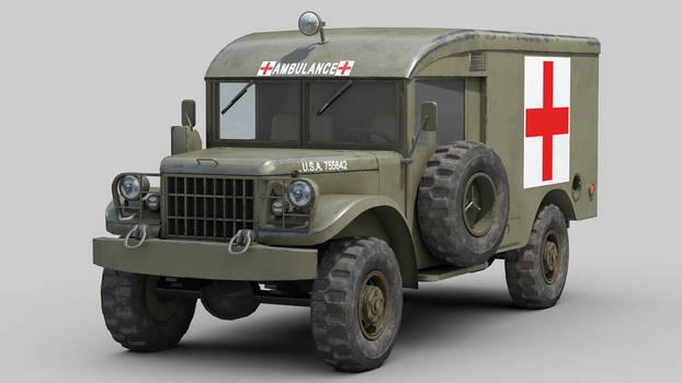 M43 Dodge Ambulance