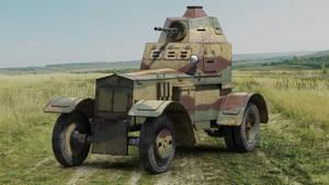 WZ 34 Polish armored car