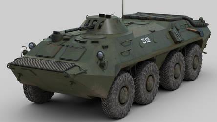 BTR 70 by sandu61