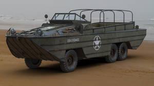 DUKW Amphibious Vehicle