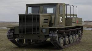 YA 12 Artillery Tractor