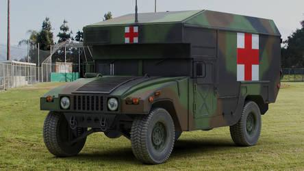 M997 Military Ambulance