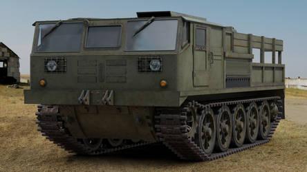 ATS 59G Artillery Tractor