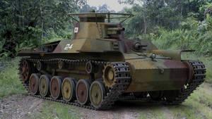 WW2 IJA Chi Ha medium tank