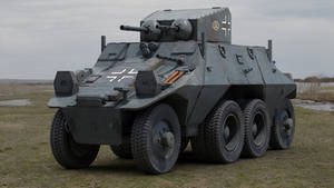 Steyr ADGZ Armored Car