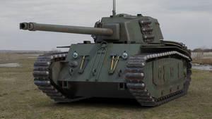 ARL 44 French Heavy Tank