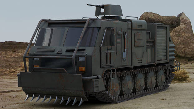 Military Intervention Truck concept