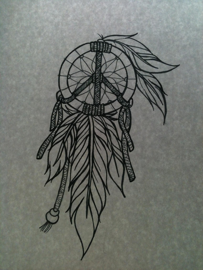 dreamcatcher wolves feathers white - photo #34