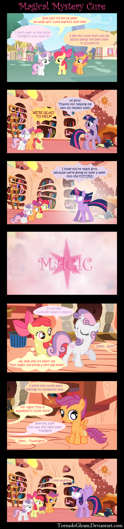 Magical Mystery Cure by TornadoGleam