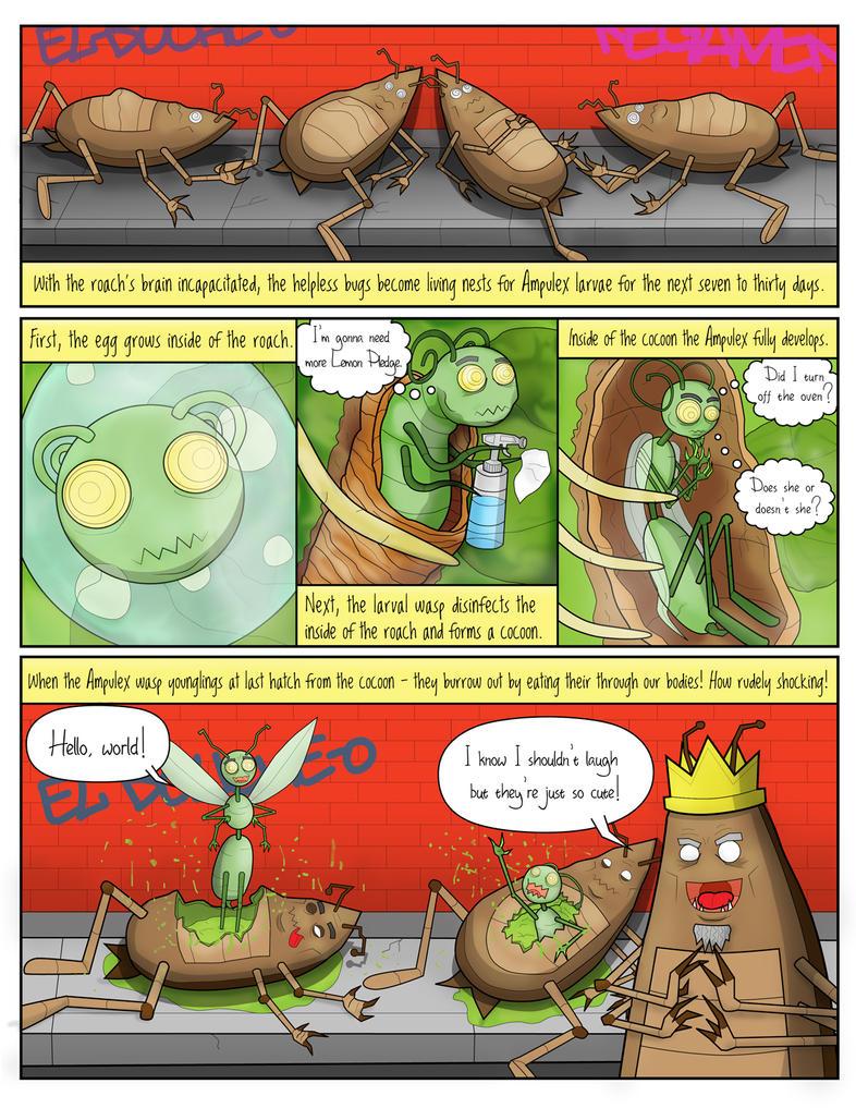 Roaches Schmitt Comic