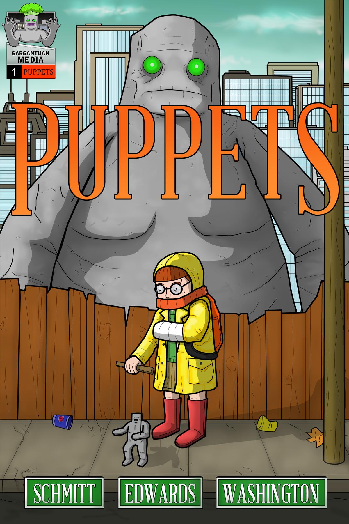 Paul Schmitt's Puppets