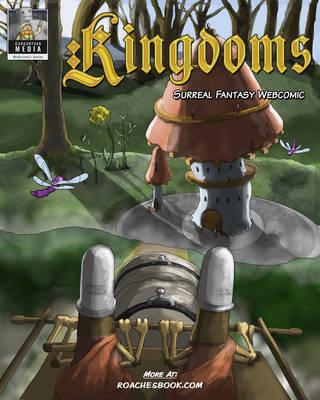 Kingdoms Webcomic Cover by Gargantuan-Media