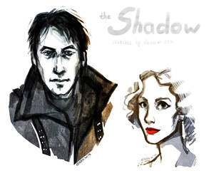 the Shadow and the Muse sketches