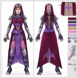 Teresa's armor concept