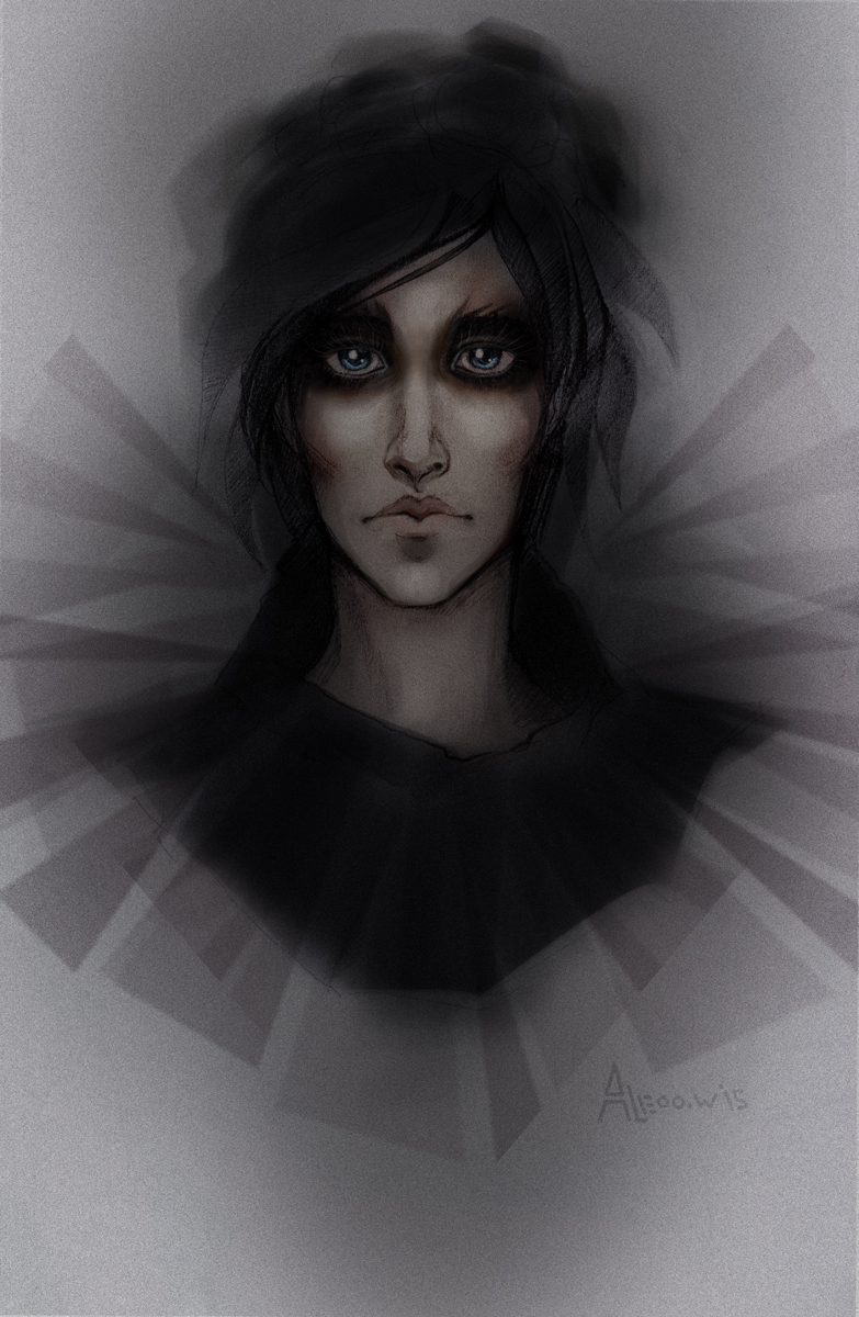 Effie Trinket - dark style