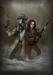 Jane and Nick Valentine