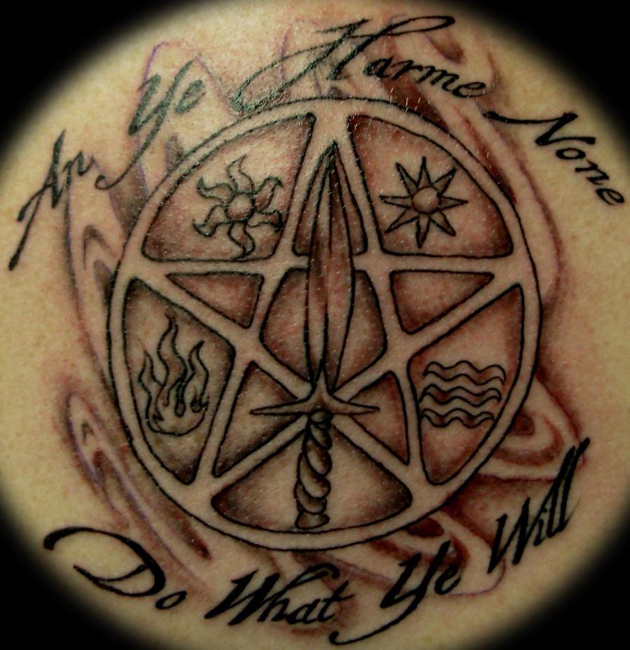 top pentagram back tattoos images for pinterest tattoos. Black Bedroom Furniture Sets. Home Design Ideas