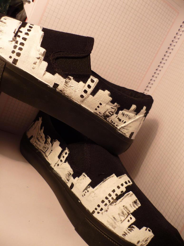 city on shoes by blakaha