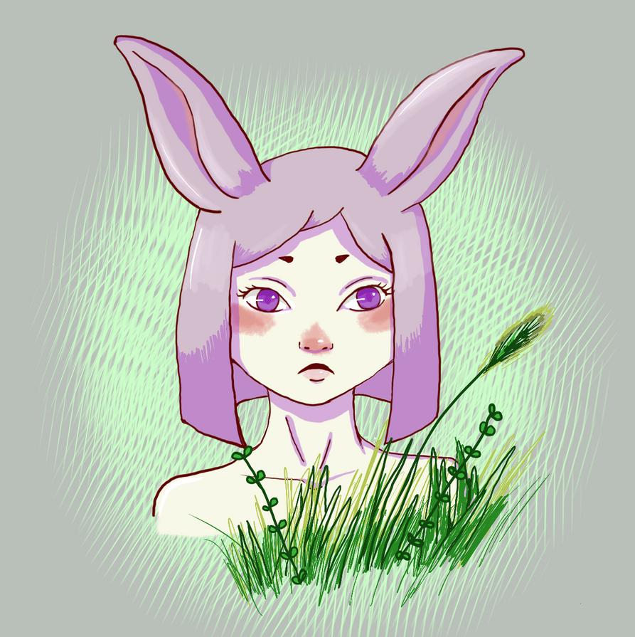 bunny cutie by blakaha