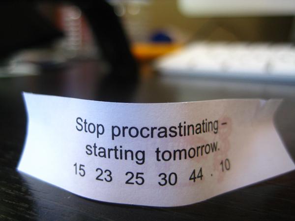 Stop Procrastinating by miiitch