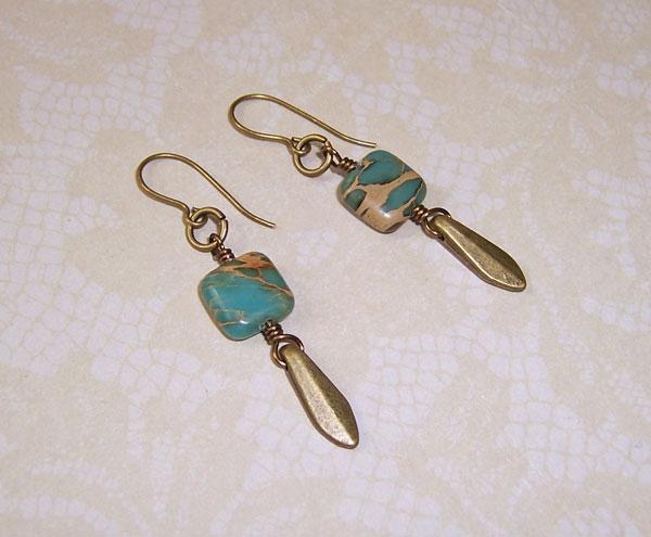 Aquaterra jasper earrings 2 by asukouenn