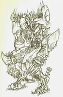 Beware the Zombot by sheppyboy2000