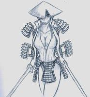 Samurai Chic by sheppyboy2000