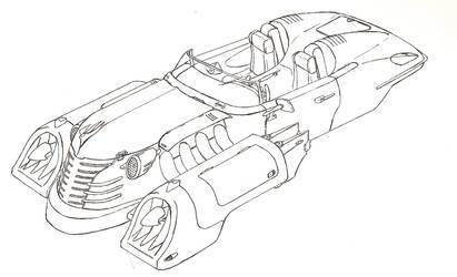 Cruiser lineart by sheppyboy2000