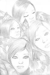 Quick Sketch 2: Utada Hikaru by sheppyboy2000