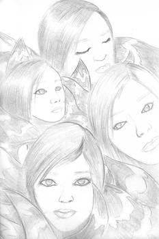 Quick Sketch 2: Utada Hikaru