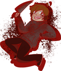 Jimmy Casket (A bloody boy) by Lace15